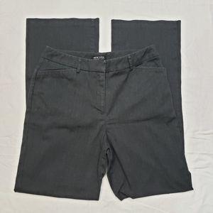 New York & Company Dark Gray Dress Pants 10 TALL
